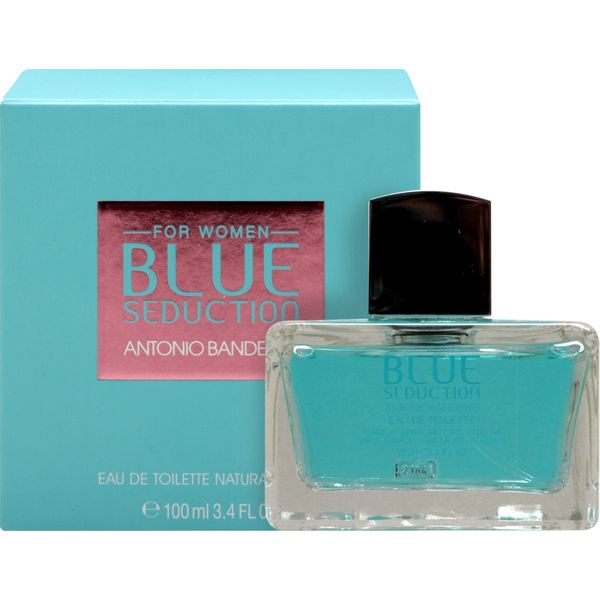 EaudeToiletteBlueSeductionWomanx80Ml