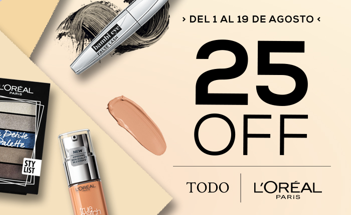 Loreal 25 off Mobile