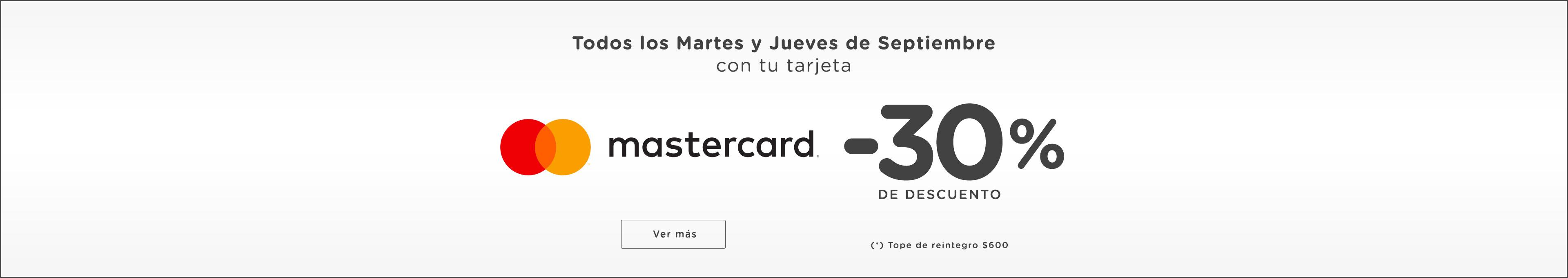 Mastercard martes y jueves Desk