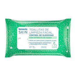 Toallitas-Limpieza-Facial-Farmacity-Skin-Control-de-Oleosidad-Con-Extracto-de-Algas-X-15-Un.