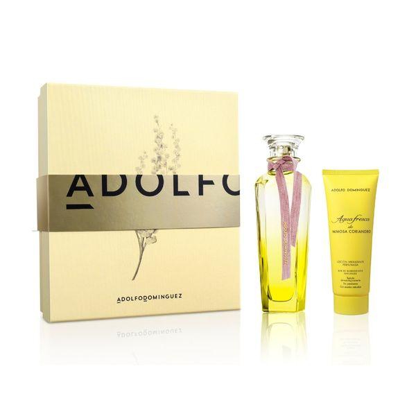 estuche-adolfo-dominguez-agua-fresca-mimosa-coriandro-1-eau-de-toilette-x-120-ml-1-locion-corporal-x-75-ml