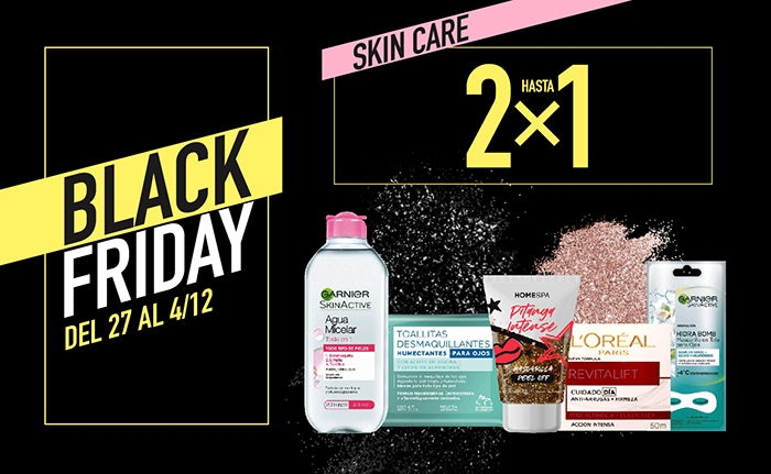 Skin Care hasta 2x1 Mobile