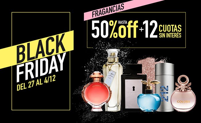 Fragancias hasta 50 off  Mobile