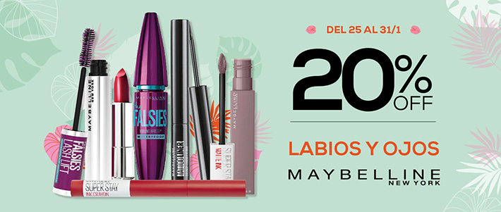 Maybelline 20 off Mobile