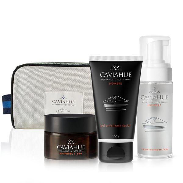 necessaire-caviahue-hombre-crema-facial-360-gel-exfoliante-x-100-g-espuma-de-limpieza-facial